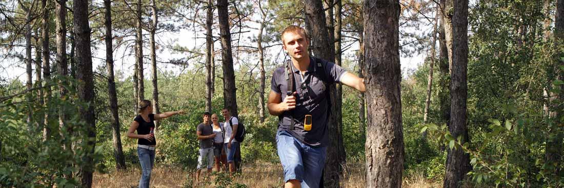 Teamevent Abenteuer Geocaching Wald