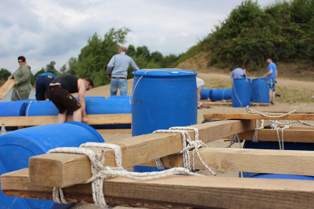 floss bauen karlsruhe teambildung