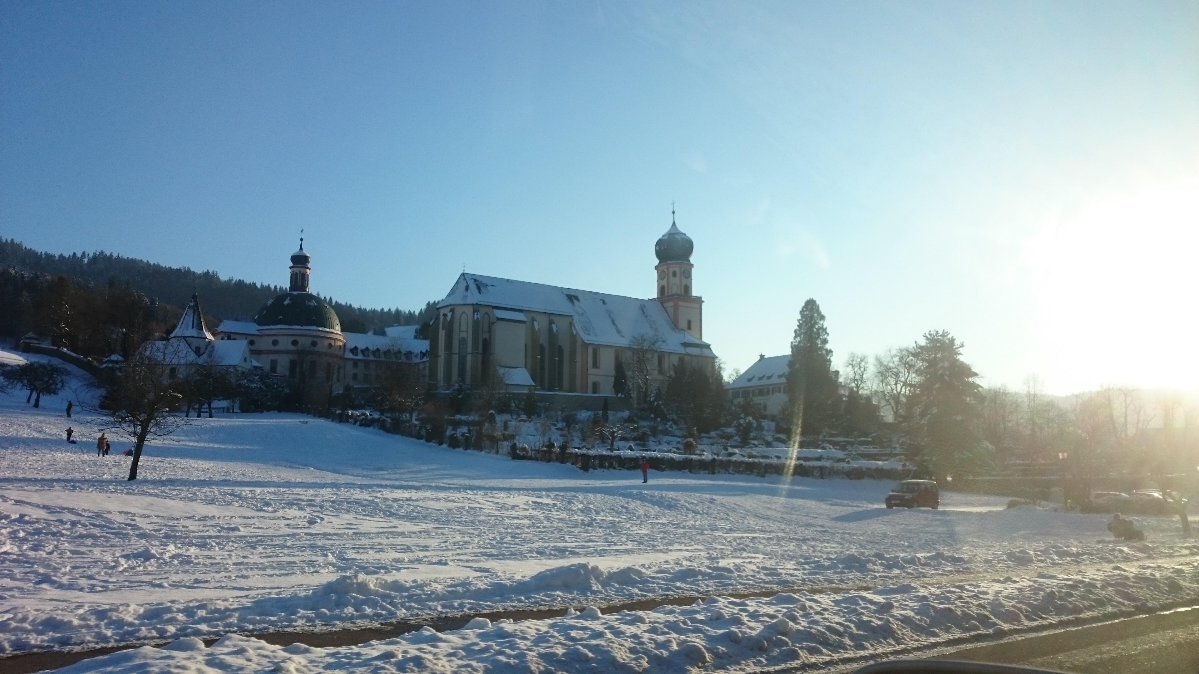 Winterlandschaft-Freiburg-Schlittenfahren