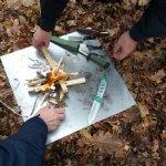 Feuermachen Outdoor Aktivitäten Ideen Geocaching