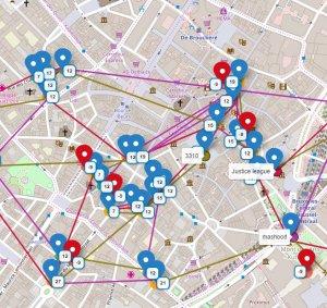 Stadtplan Brüssel CleverCachen