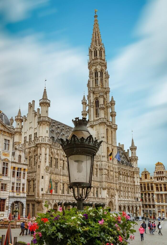 CleverCachen in Belgien Brüssel Rathaus