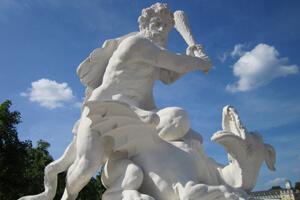 Statue bei Karlsruhe